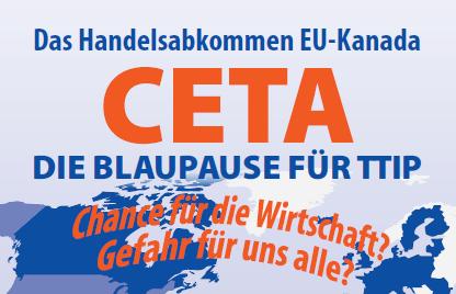 CETA - Blaupause für TTIP